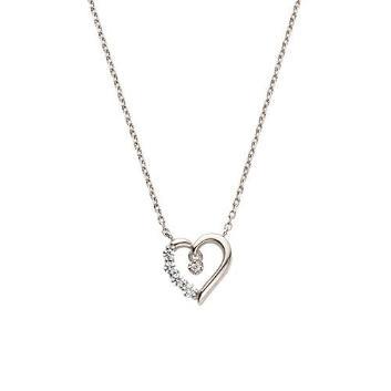 <VAヴァンドーム青山>【WEB限定】Mellow Heart ネックレス[Hard Silver925]