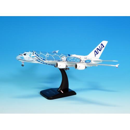 <ANAオリジナル>NH40099 1:400 A380 JA381A ダイキャストモデル(WiFiレドーム・ギアつき)