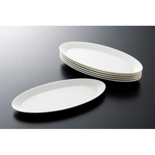 <ANA機内サービス用品>NARUMI/オーバル前菜皿(和紙柄) 6枚セット
