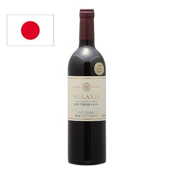 <マンズワイン>ソラリス信州千曲川産メルロ【2017】(赤ワイン)