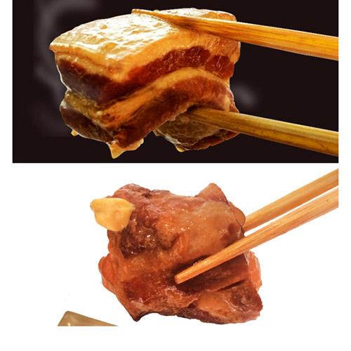 <あさひ>炙りラフティ・炙りソーキセット