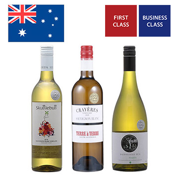 【送料無料】A-styleソムリエが選んだ、オーストラリアの機内採用白ワイン3本セット