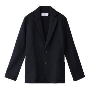 <スリードッツ>Men's double jaquard tailored JK