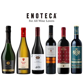 【送料無料】お肉と楽しむ濃厚&コクありワイン6本セット(エノテカ)