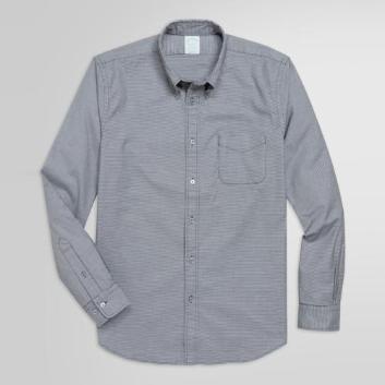 <ブルックス ブラザーズ>ストレッチコットンツイル マイクロハウンドトゥース スポーツシャツ Milano Fit