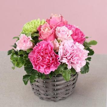 【母の日ギフト】生花アレンジメント「ラペーシュ」 ※送料込み価格