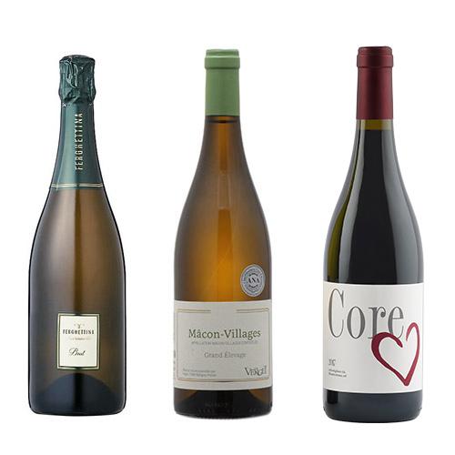 【送料無料】A-styleソムリエが選んだ、特別な日のちょっと贅沢なワイン3本セット