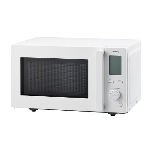 <ツインバード>センサー付フラット電子レンジ (DR-F281W)