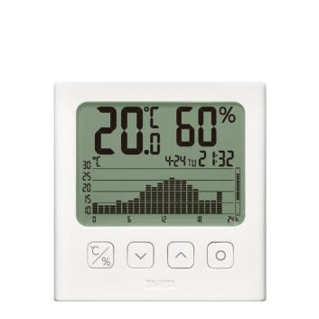 <タニタ>グラフ付きデジタル温湿度計TT581