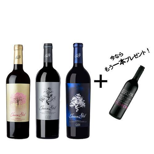 【送料無料】★120セット限定 赤ワイン「ペドレラ」をプレゼント★ ファン・ヒル濃厚赤ワイン3本セット