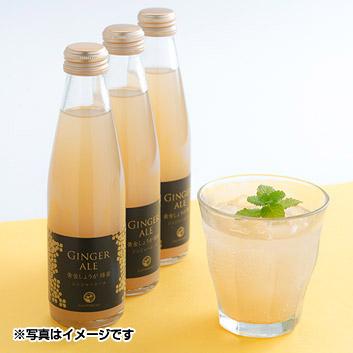 【食べて応援!!】黄金しょうが蜂蜜ジンジャーエール6本セット