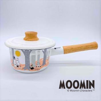 <富士ホーロー>ムーミン ミルクパン 14cm(MTF-14M)