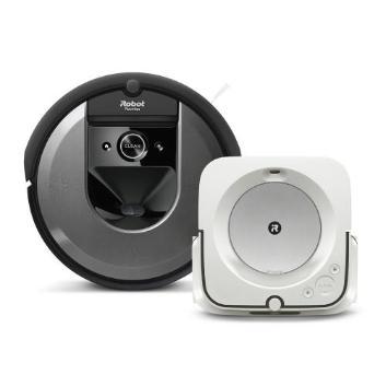 【セット割引き販売】<iRobot>ロボット掃除機ルンバ i7と床拭きロボット ブラーバjet m6