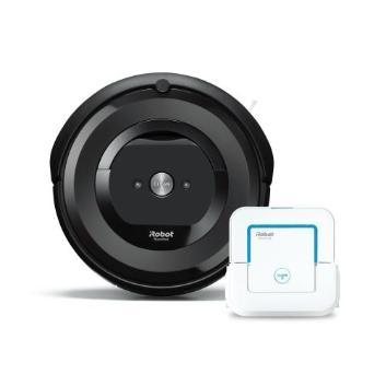 【セット割引き販売】<iRobot>ロボット掃除機 ルンバe5と床拭きロボット ブラーバjet250