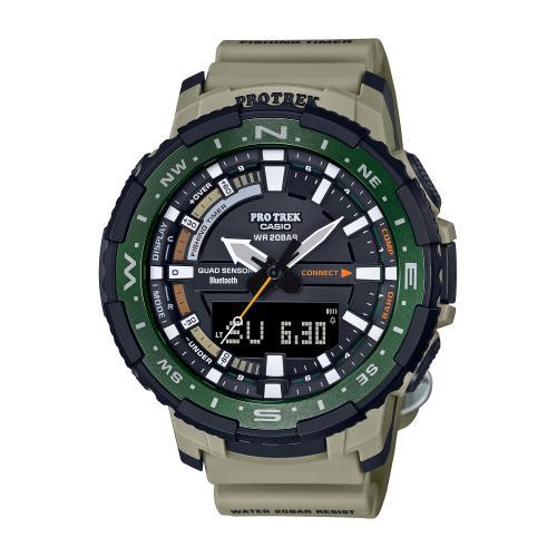 <カシオ>PROTREK Angler Line Bluetooth搭載 PRT-B70-5JF