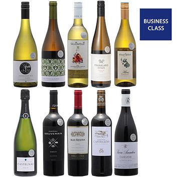 【送料無料】2019年度機内ワイン ビジネスクラス赤白泡10本セット