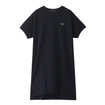 <フレッドペリー>BOXY PIQUE T-SHIRT DRESS