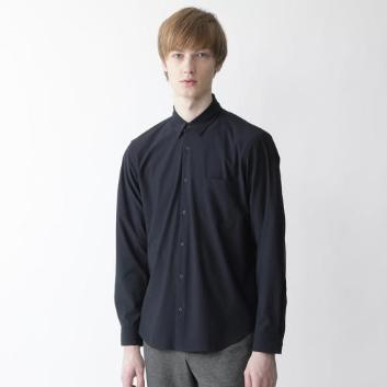 <ブラックレーベル・クレストブリッジ>【Lab.works】ソリッドシャツ