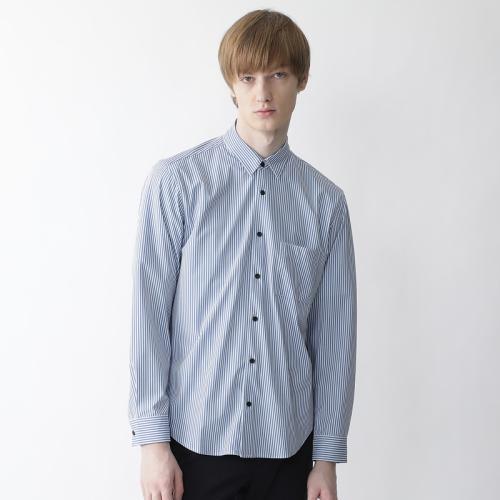 <ブラックレーベル・クレストブリッジ>【Lab.works】ロンドンストライププリントシャツ
