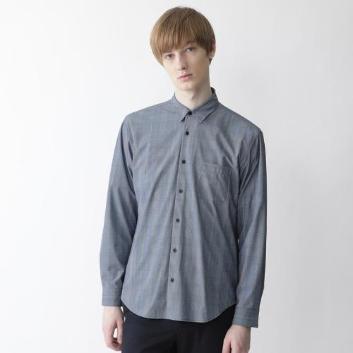 <ブラックレーベル・クレストブリッジ>【Lab.works】CBギンガムプリントシャツ