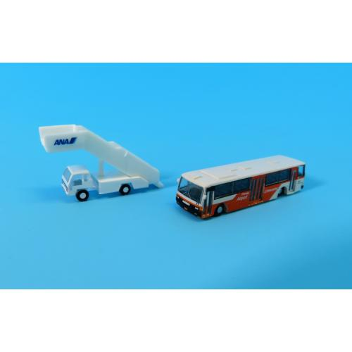 <ANAオリジナル>GSE40109 1:400 GSE 東京空港交通ランプバスとステップカーの2台セット