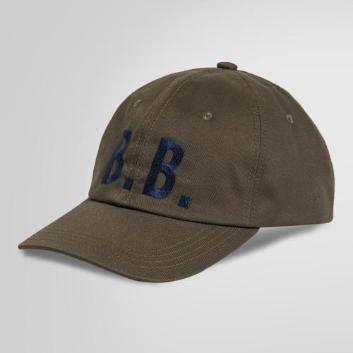 <ブルックス ブラザーズ>ポリエステル/コットン B.B. ベースボール キャップ