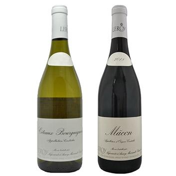 <ルロワ> 紅白ワイン2本セット