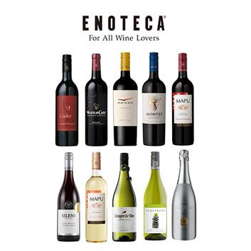 【送料無料】<エノテカ>デイリーワインはこれで決まり!赤白泡ミックス10本セット