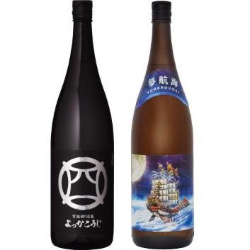 <忠孝酒造>琉球泡盛 香り飲み比べ 1800ml2本セット(泡盛)