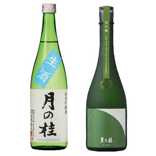 <月の桂>純米吟醸 夏の生酒・The Branche 2本セット
