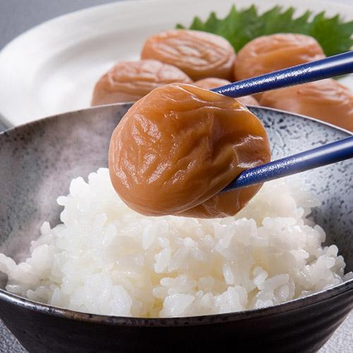 <和歌山産>無選別梅干し(うす塩味)【1.5kg】