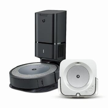 【セット割引き販売】<iRobot>ロボット掃除機 ルンバ i3+と床拭きロボット ブラーバjet m6