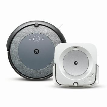 【セット割引き販売】<iRobot>ロボット掃除機 ルンバ i3と床拭きロボット ブラーバjet m6