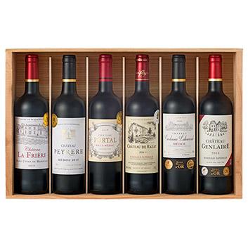 金賞受賞ボルドー赤ワイン6本セット(木箱入り)