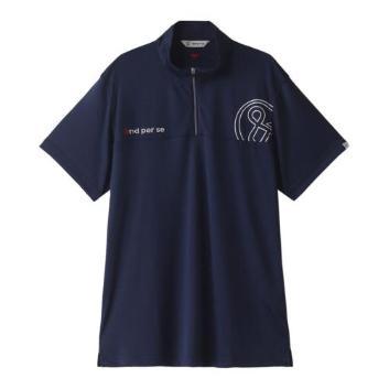 <アンパスィ>【吸汗速乾】【ストレッチ】ポロシャツ