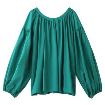 <スリードッツ>Cotton loan shirt