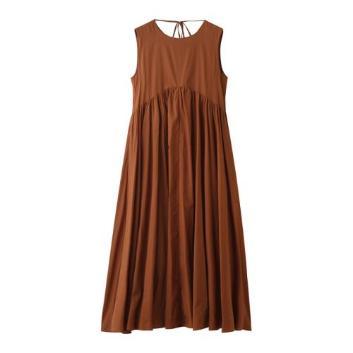 <スリードッツ>Cotton loan dress