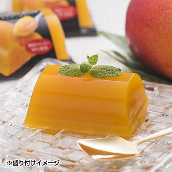 <山福製菓>指宿・マンゴーの森 マンゴーゼリー詰合せ 9個入