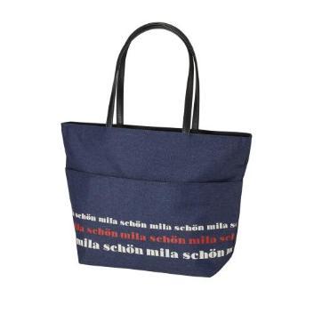 【タカシマヤセレクト】<ミラショーン>mila schon トートバッグ ネイビー