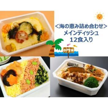 【ANA's Sky Kitchen】おうちで旅気分!!ANA国際線エコノミークラス機内食メインデイッシュ 海の恵み詰め合わせ 12食入り