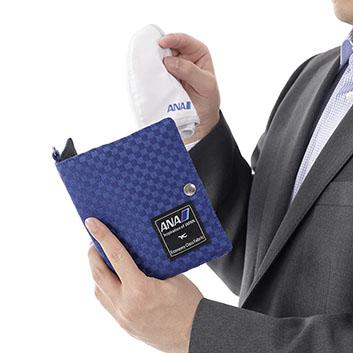 <ANAオリジナル>Economy Class Fabric マスクケース