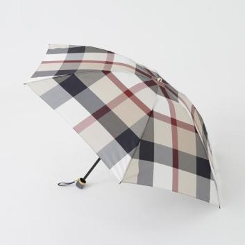 <ブルーレーベル・クレストブリッジ>クレストブリッジチェック折りたたみ傘