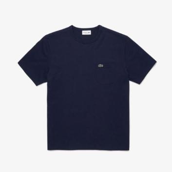 <ラコステ>レギュラーフィット クロコエンブレムクルーネックポケットTシャツ