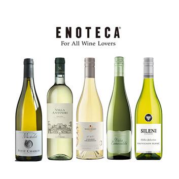 【送料無料】世界の銘醸地を巡る白ワイン5本セット