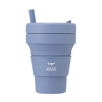 <ANAオリジナル>stojo for ANA  BIGGIE (STEEL/470ml)