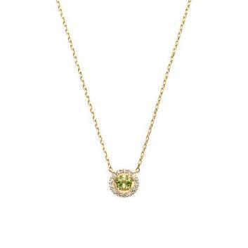 <VAヴァンドーム青山>K18YG ペリドット ダイヤモンド ネックレス