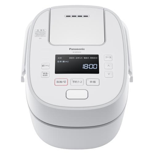 <Panasonic>可変圧力IHジャー炊飯器 SR-MPW101