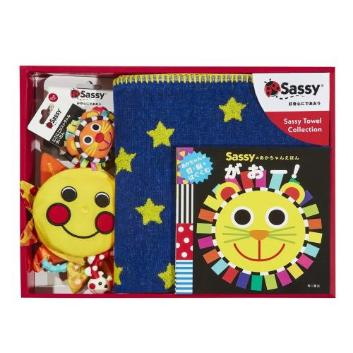 <Sassy>サッシー・出産祝いタオルケットセット