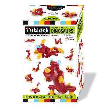 <Tublock(チューブロック)><br>スターターセット ダイナソーズ