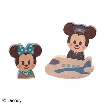 <ANA STORE@SKY(機内販売)商品>Disney|KIDEA(ディズニー キディア) AIRPLANE